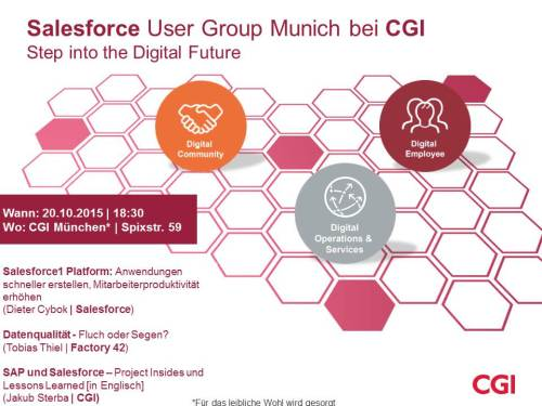 2015-09-10 Salesforce User Group Munich bei CGI